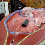 1989 - 21' Bullet - In the process of the new gel coat. This boat will look just like brand new! (4 of 8 pics)